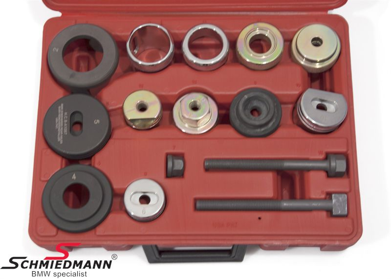 Rear axle bush remover/installer special tool set (The work can be done directly on the car)
