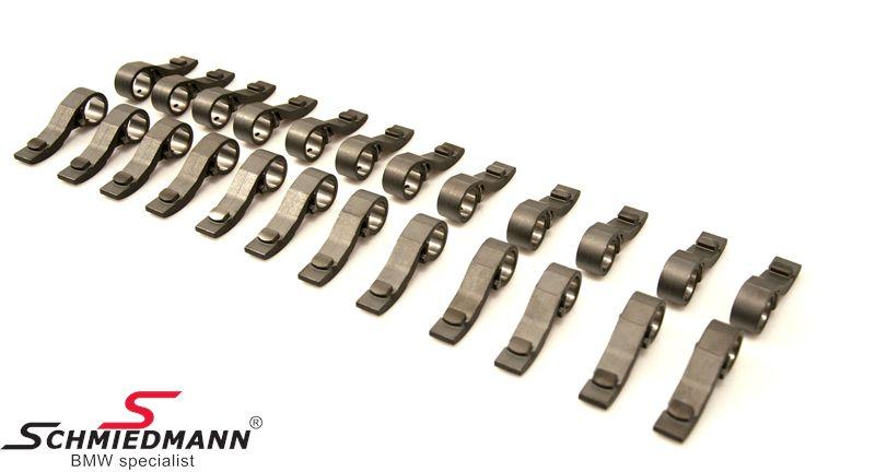 Schrick DLC coatede forstærkede vippearme sæt med 24stk.