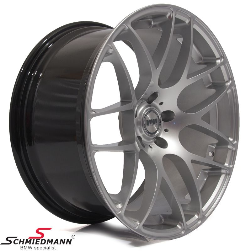 "20"" original VMR -TYPE V710- hyper silver rims 10x20 (fits only rear)"