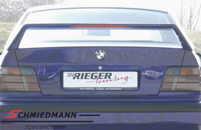 Rear-wing Rieger Infinity II  with brake light high version