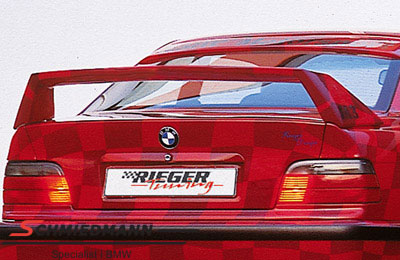 Hækvinge Rieger Infinity II u. bremselys høj model