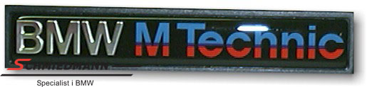 "Emblem ""BMW M-Technic"" for M-Technic side mouldings"