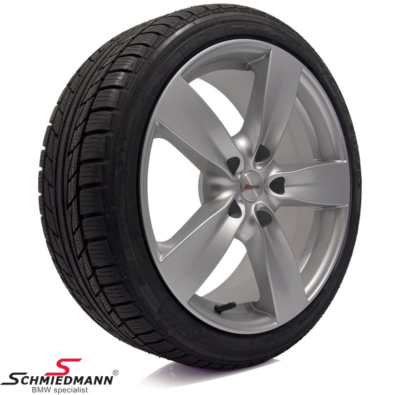 "18"" -EDELMANN- wheels with 225/40HR18 winther tyres"