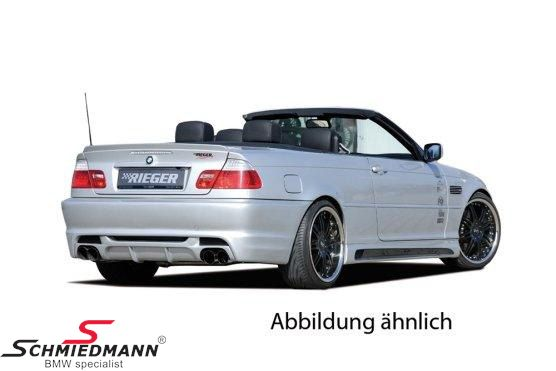 2da7f0300dc Rear skirt insert Rieger for these Rieger rear skirts  50248 50249 50250 50251