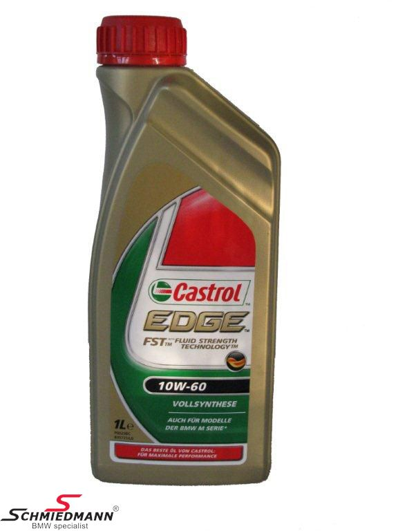 Motoroil Castrol Edge FST 10W-60 fully synthetic 1liter can