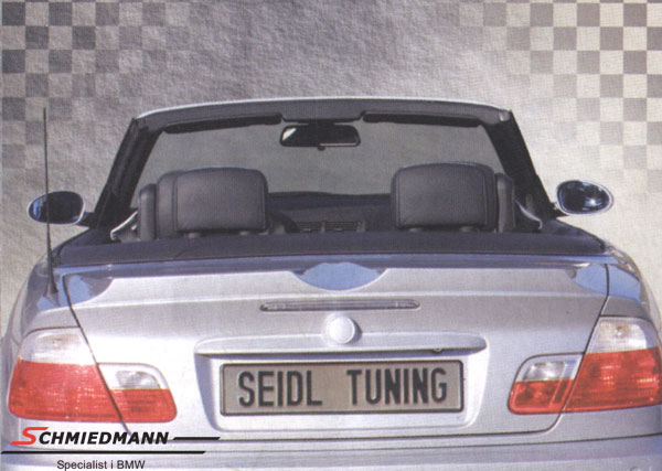 Seidl rear spoiler without brakelight Airboot