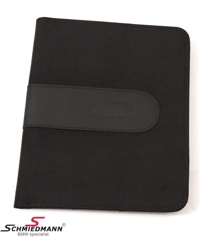 Inspectionbook holder -M-design genuine leather