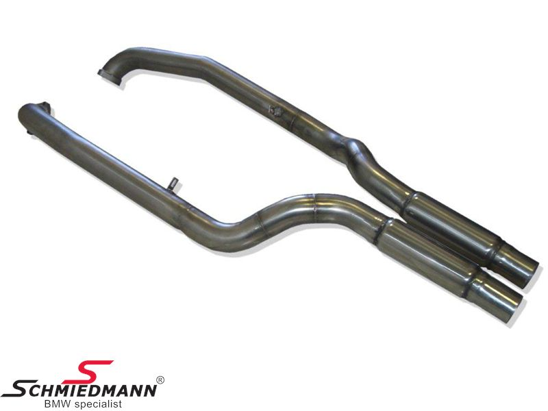 Schmiedmann frontpipe and sport middle-silencer