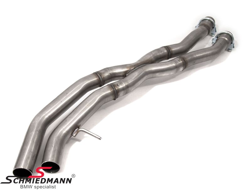 Schmiedmann middle-silencer replacement / X-pipes