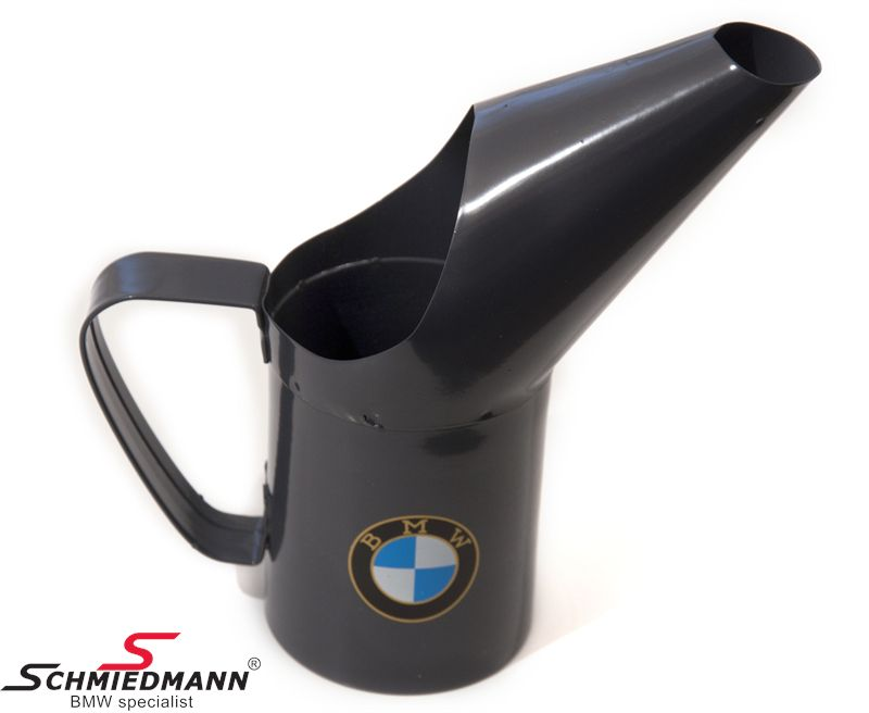 BMW decoration oil can/pitcher (small) with old-fashioned BMW logo