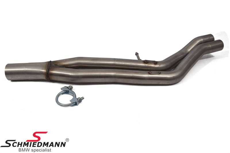 Y-pipe to the endmuffler Supersprint