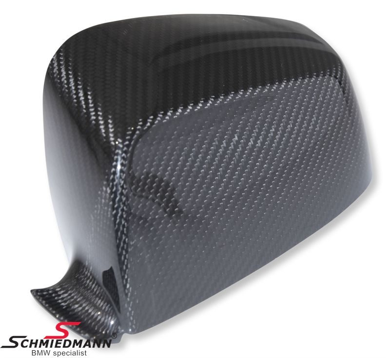 Sidemirror cover original BMW genuine carbon L.-side