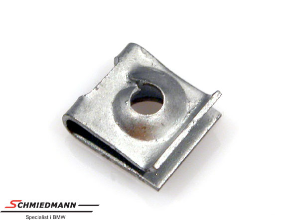 Klamp metal for screw
