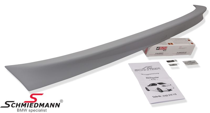 Trunk lid spoiler lip original AC Schnitzer (is mounted with glue)
