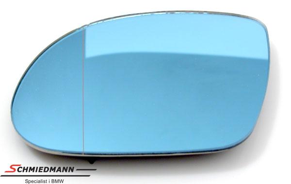 Sidespeil-glass med varme/tonet flatt V.-side