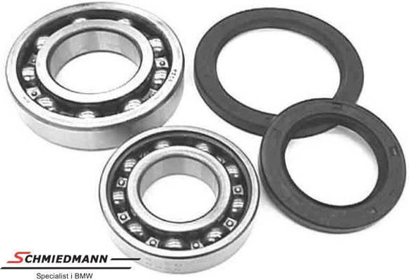 Wheel bearing set rear 45X62/40X80, original -BENDIX-