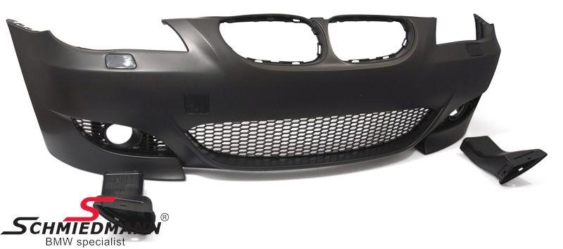Motorsport II EVO design etupuskuri (alkuperäiset sumuvalot voidaan uudelleen käyttää)