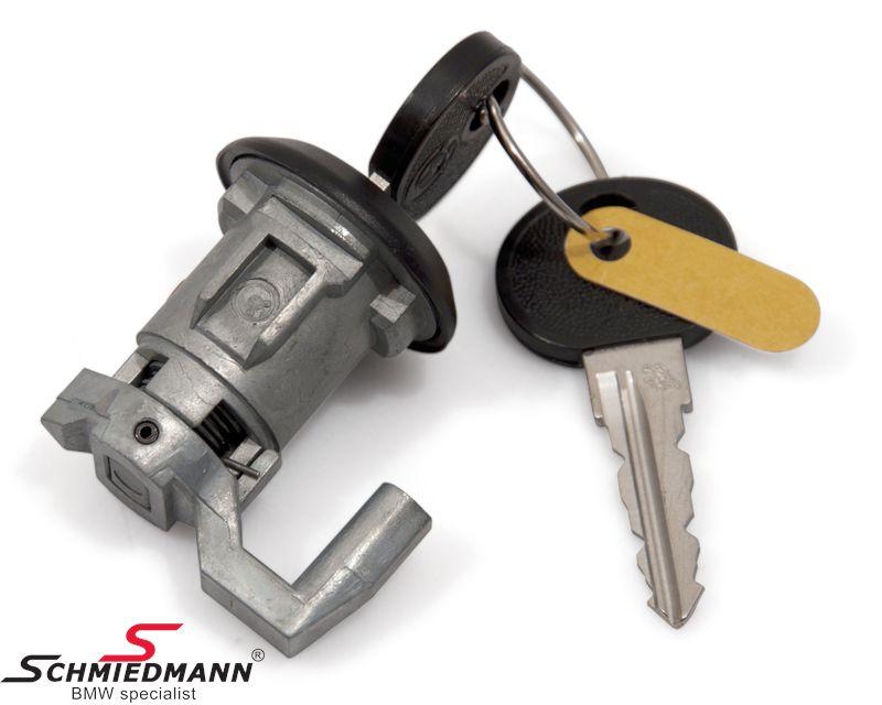 Dørlås m. nøgle H.-side