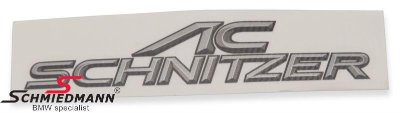 AC Schnitzer logo 120x20MM
