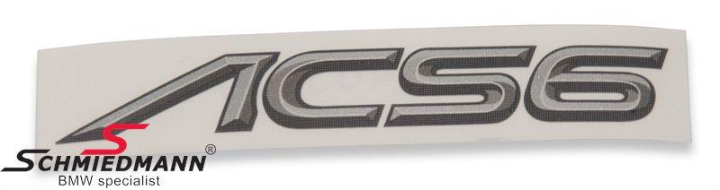AC Schnitzer logo klistermærke -ACS6-