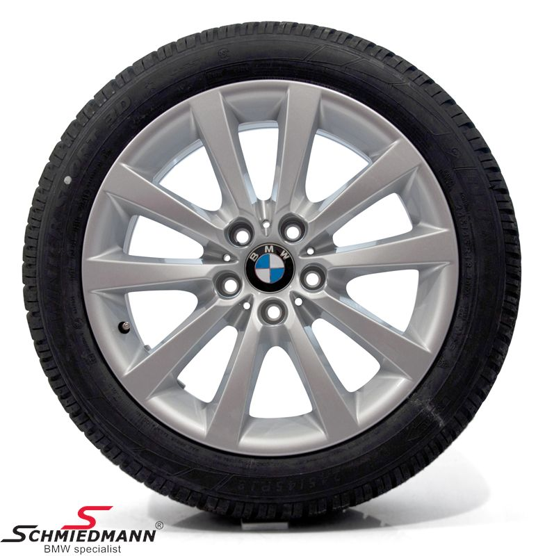 "18"" V-Speiche 328 original BMW rims with 245/45/18 Runflat Dunlop SP Wintersport 3D ROF winter tyres"
