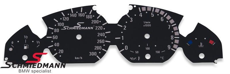 Schmiedmann special instrumenterings ombygnings-sæt (sort)
