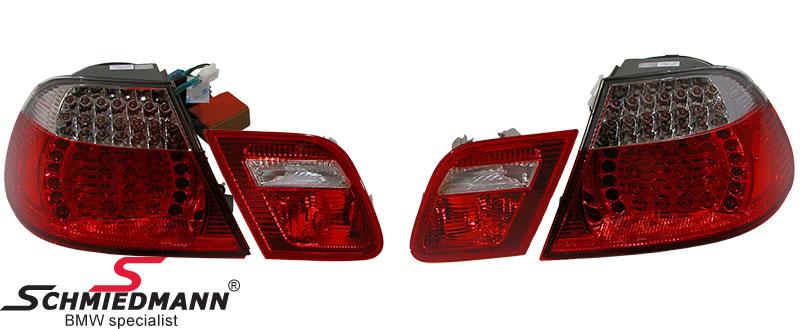 Rückleuchten LED rot/weiss 2003 facelift upgrade im Original-Design
