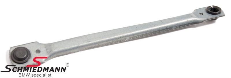 BMW 61611387404 / 61-61-1-387-404  Drive rod wiper system R.-side
