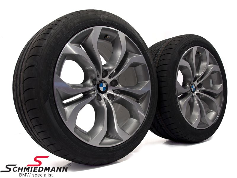 "20"" 10+11x20 Y-Speiche 336 with 275/40+315/35/20 (original BMW)"