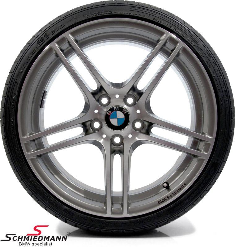 """18"""" 7,5+8,5x18 BMW Performance Dop.Speiche 313 alufælge m.215/40+245/35/18 (original BMW)"""