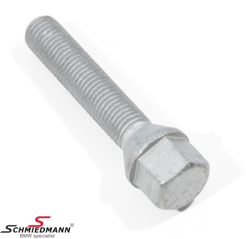 Wheel screw long 60° conic head SW17 (for 17 nut) M12X1,5 X 55MM