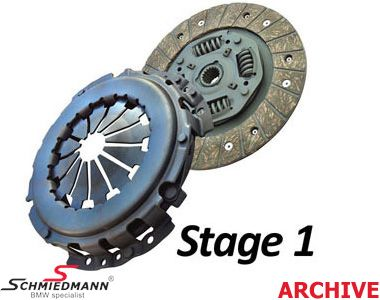 Sport-clutch -Black Diamond- PWR fast road (up to 20-25% above standard) M43 D=228MM