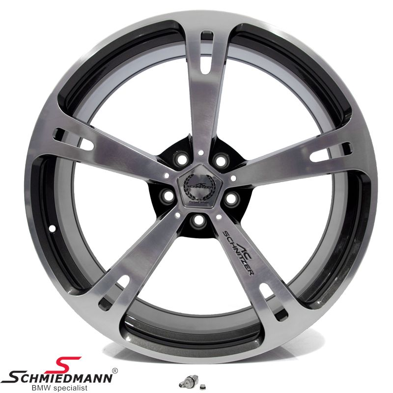"22"" original -AC Schnitzer type V- rim -forged- 10X22 (fits only rear)"