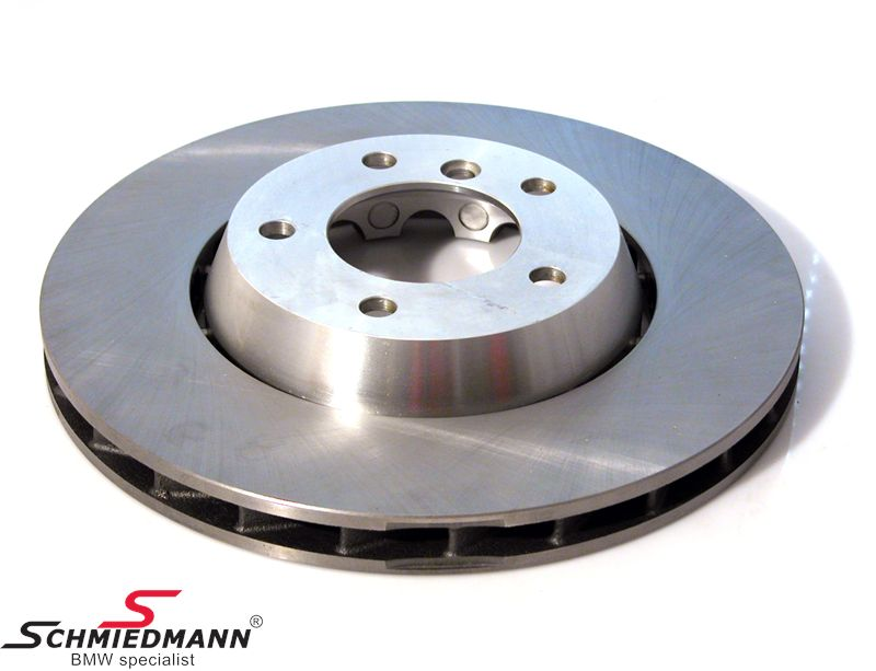 Brake disk floating bearings with alloy center 315x28MM ventilated L.-side