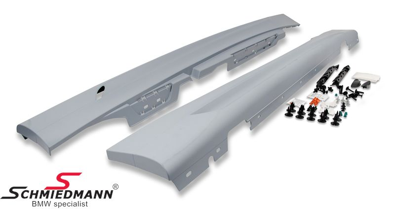 BMW 51770442893 / 51-77-0-442-893  Sideskirts original BMW Performance with airducts