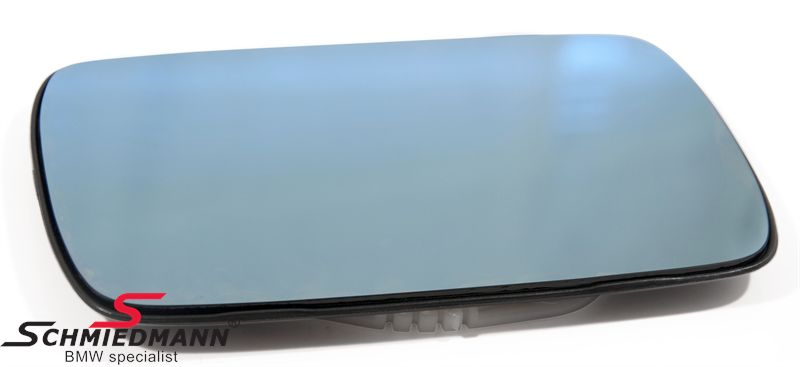Mirror glass without heating L.-side