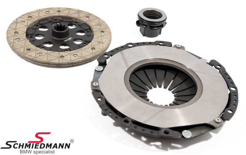Sport-clutch -Black Diamond- KVR fast road/competition (up to 25-30% above standard) D=228MM
