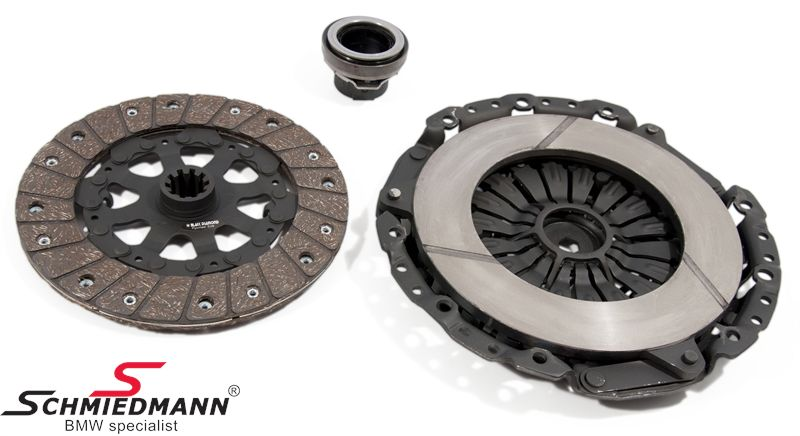 Sport-clutch -Black Diamond- PWR fast road (up to 20-25% above standard) D= 228MM