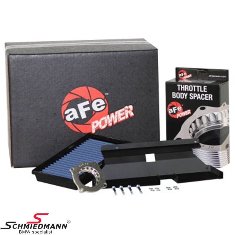 AFE Power Magnum Force super stock PRO 5R sport air intake system, with additional air supply and throttle body spacer
