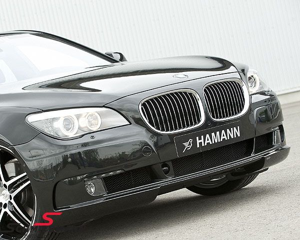 Frontspoiler original -Hamann- inclusive LED driving lights