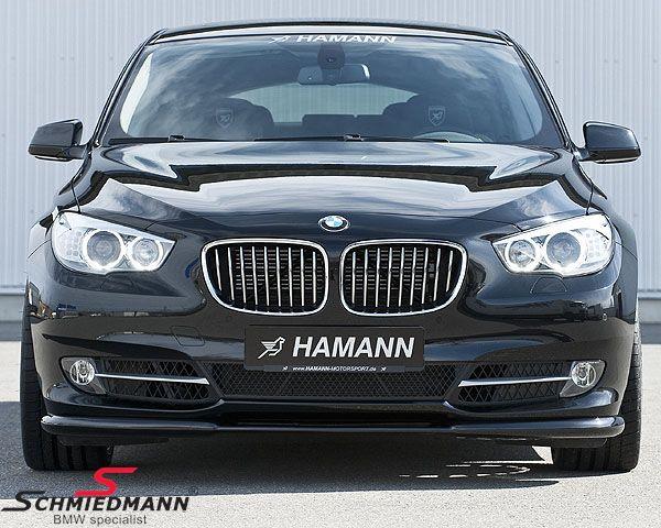 Frontspoiler lip original -Hamann- for standard frontbumper