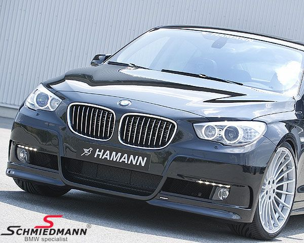 Frontspoiler original -Hamann- (for standard foglights) inclusive LED driving lights
