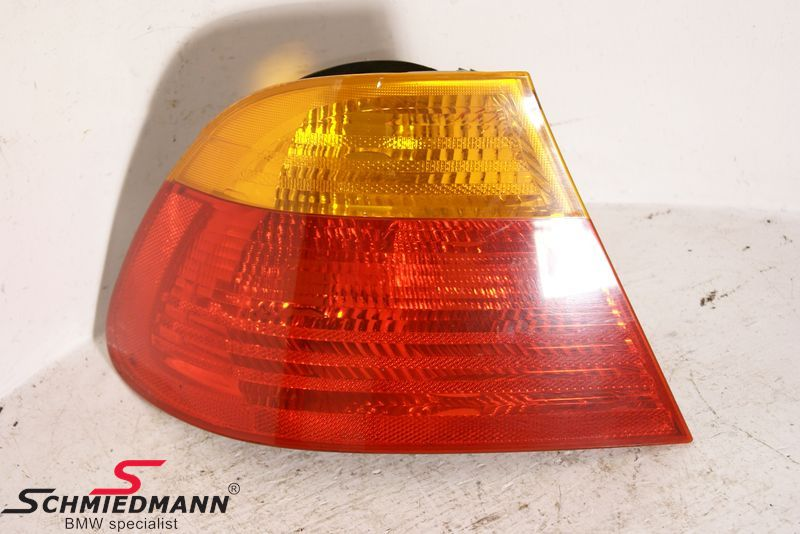 B63218364725  Taillight standard yellow indicator outer part L.-side