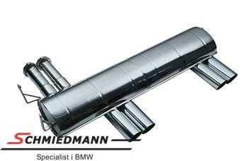 Eisenmann Sportendschalldämpfer 4XØ76MM (mit nur einen Anschlussrohr)
