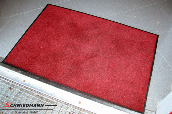 Red floormat