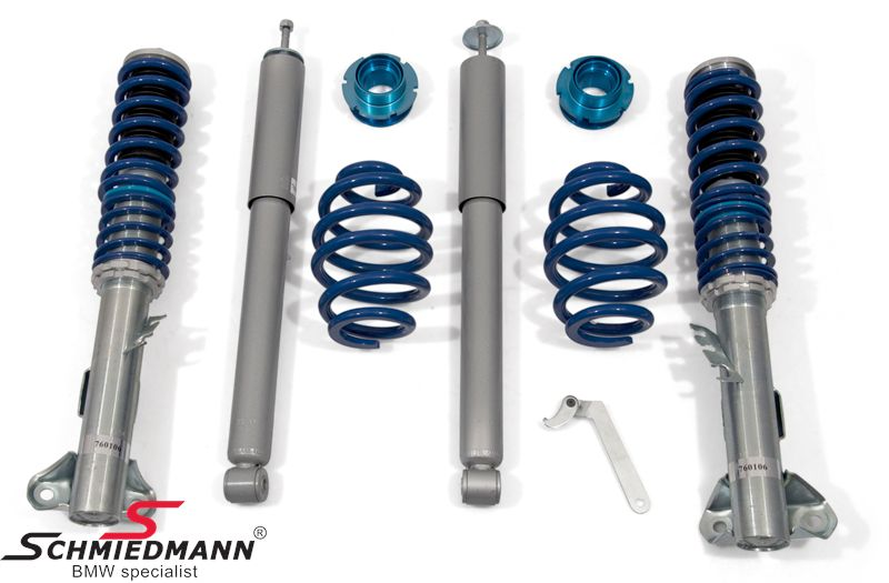 Coilovers t -Low budget- höjd justerbara fram 40-80MM + bak 30-60MM