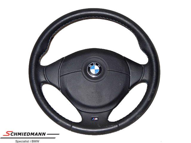 Sportsrat læder M-Technic inklusiv airbag D=385MM