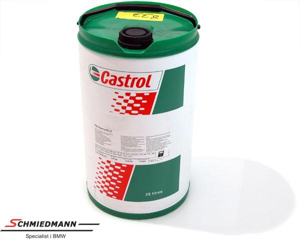 Olja servostyrning/automatisk växellåda Castrol dextron III 25L tunna