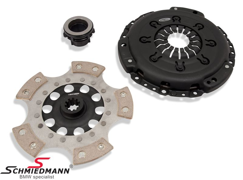 Sport-clutch -Black Diamond- PDL track day/competition (up to 30-40% above standard) D=240MM