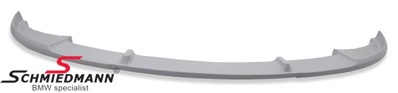 Frontspoiler lip for standard frontbumper (one piece version)